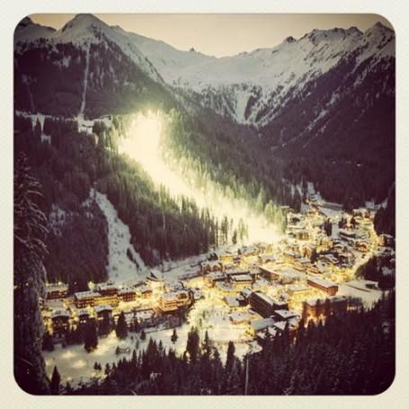 Coppa del Mondo di sci a madonna di campiglio..  anche quest'anno 3tre